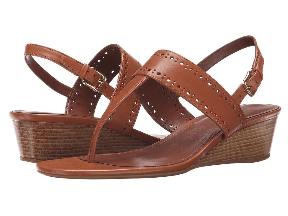 Cole Haan - Elsie Thong Sandal 40 II (Acorn) Women's Sandals