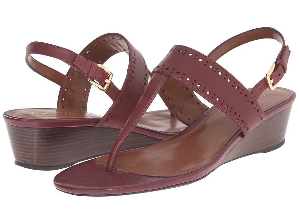 Cole Haan - Elsie Thong Sandal 40 II (Zinfandel) Women's Sandals