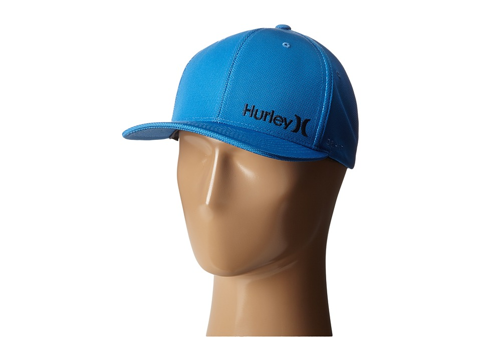 Hurley - Dri-Fit Corp Hat (Fountain Blue) Caps
