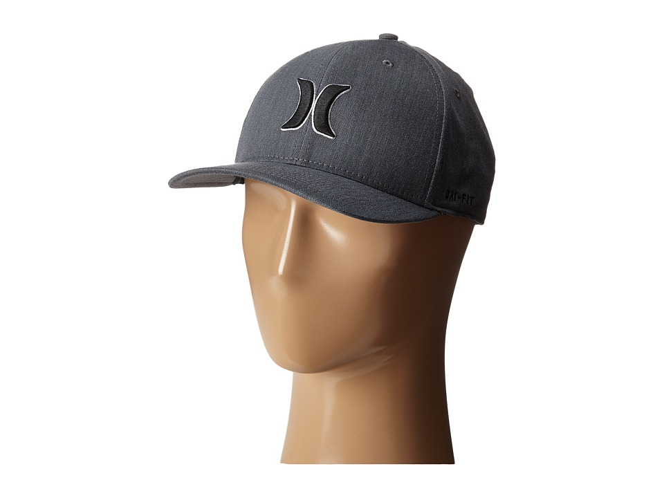 Hurley - Dri-Fit Ace Hat (Black) Caps