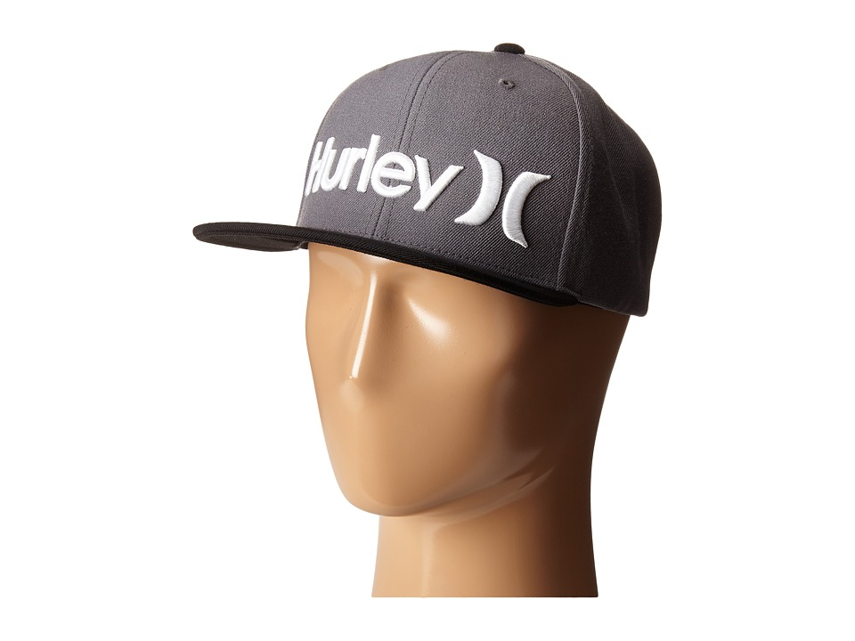 Hurley - One Only Snapback (Anthracite) Caps