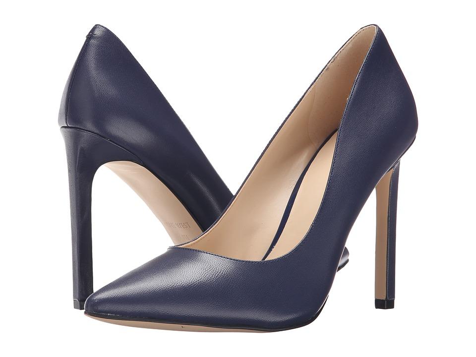 Nine West - Tatiana (Dark Navy Leather) High Heels