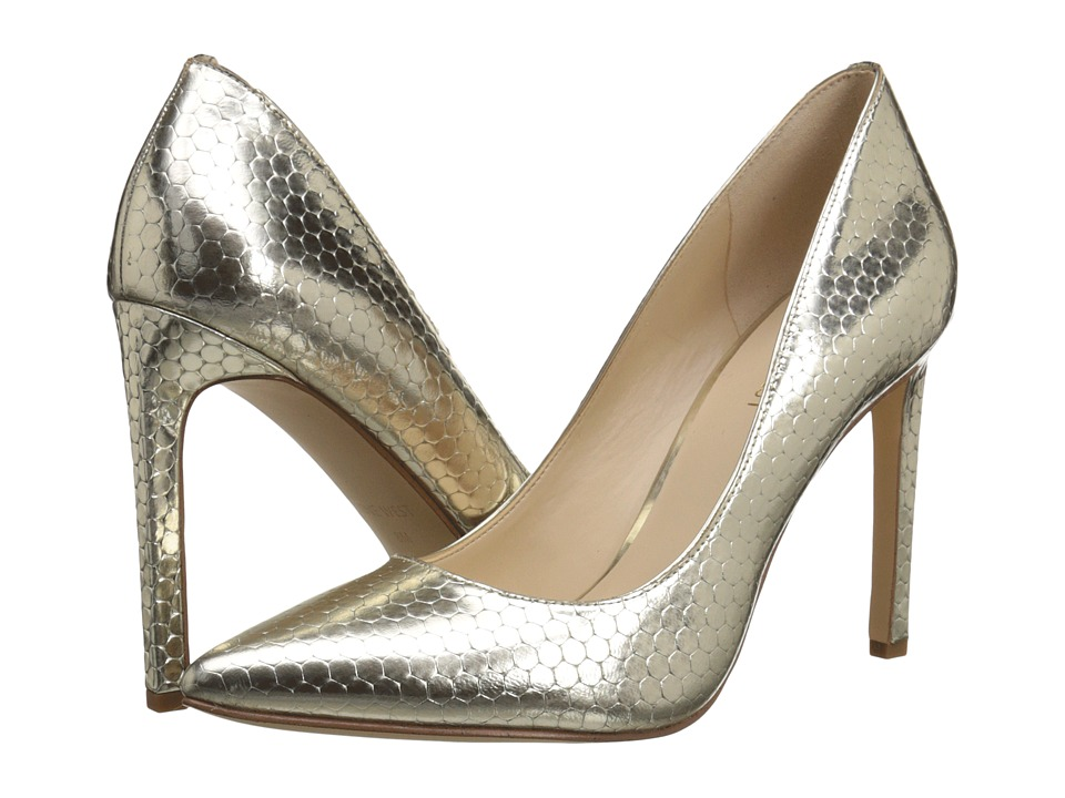 Nine West - Tatiana (Light Gold Metallic 2) High Heels