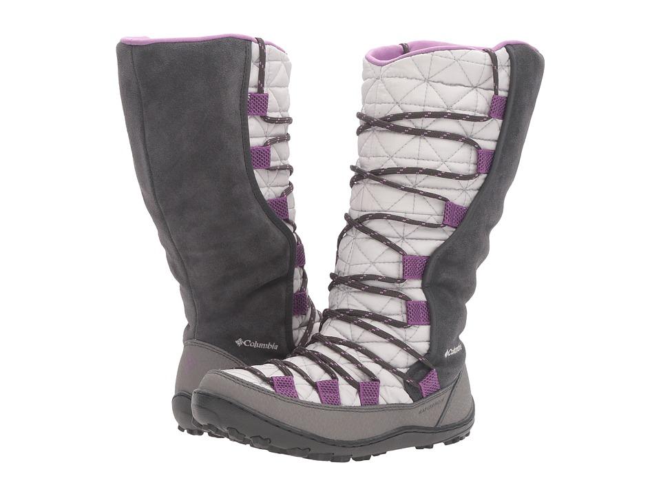 Columbia Kids - Loveland Omni-Heat (Little Kid/Big Kid) (Cool Grey/Northern Lights) Girls Shoes