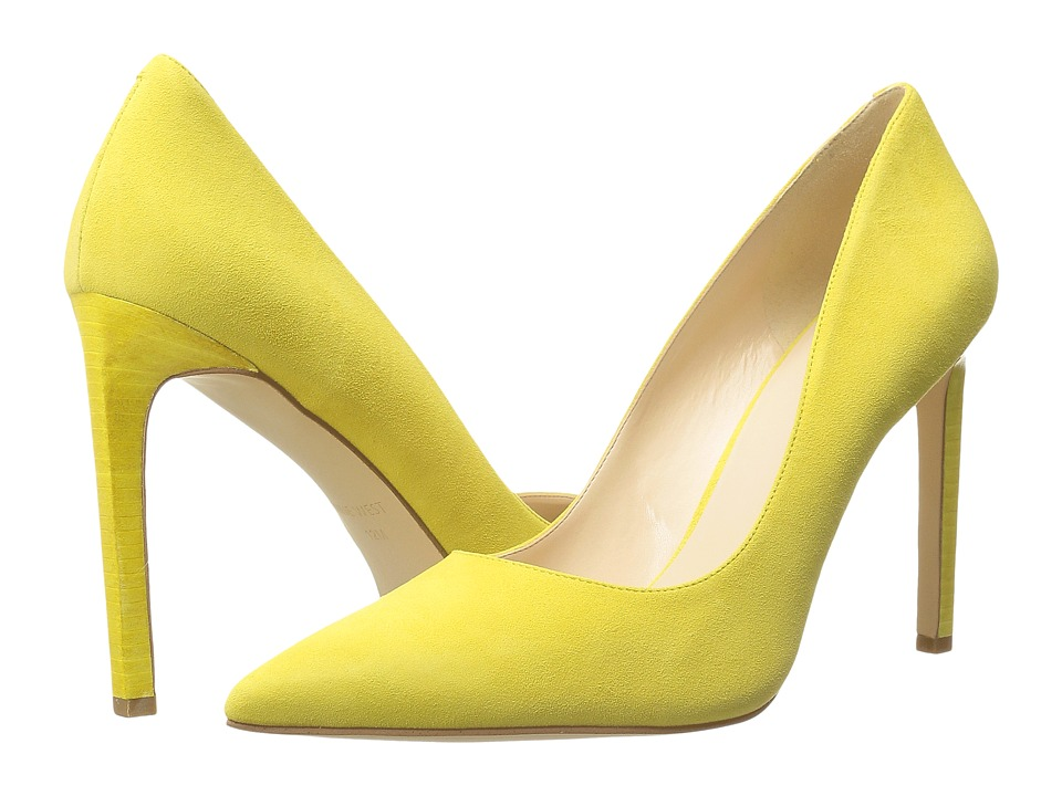 Nine West - Tatiana15 (Yellow Suede) Women's Shoes