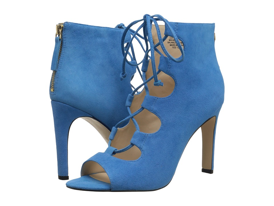 Nine West Unfrgetabl (Turquoise Suede) High Heels