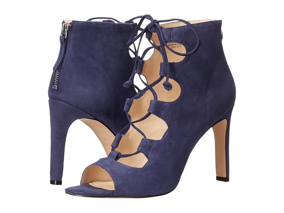 Nine West - Unfrgetabl (Navy Suede) High Heels