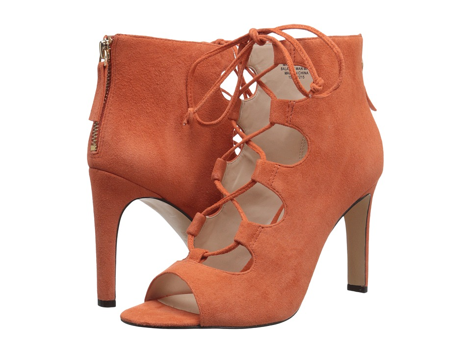 Nine West - Unfrgetabl (Orange Suede) High Heels