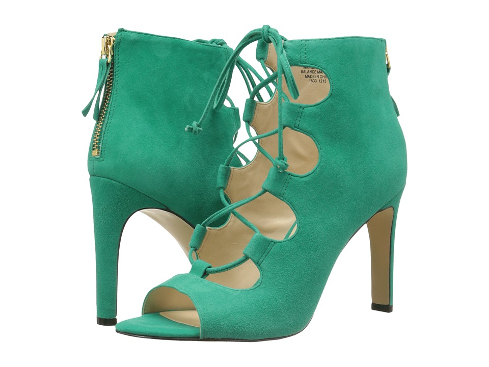 Nine West - Unfrgetabl (Green Suede) High Heels