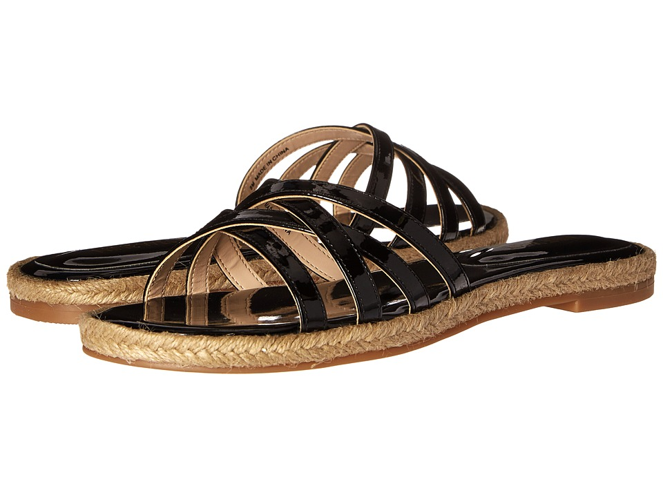 Nine West - Vern3 (Black Synthetic) Women's Sandals