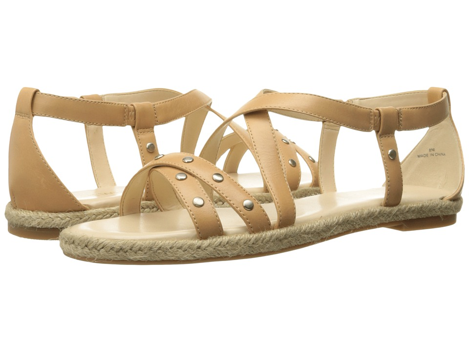 Nine West - Vilance (Natural Leather) Women's Sandals