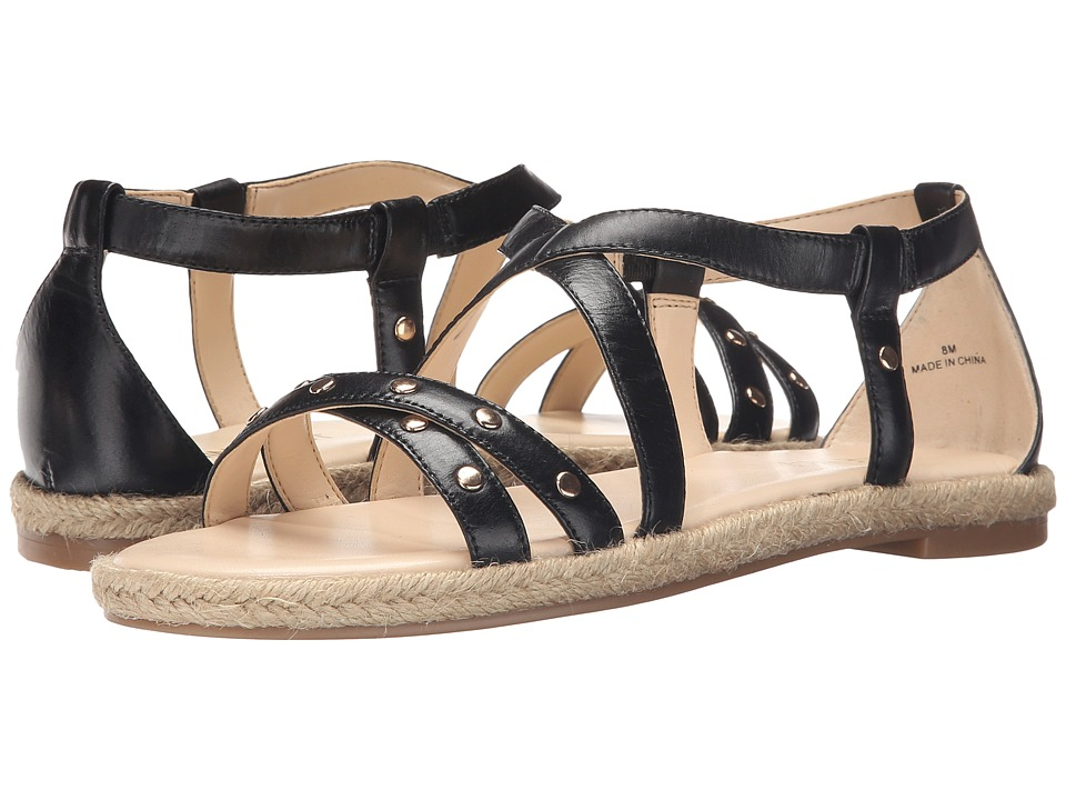 Nine West - Vilance (Black Leather) Women's Sandals