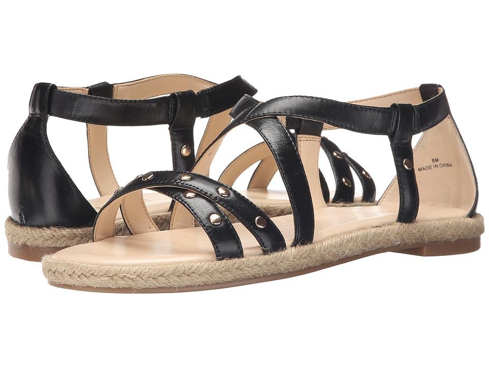 Nine West - Vilance (Black Leather) Women's Sandals