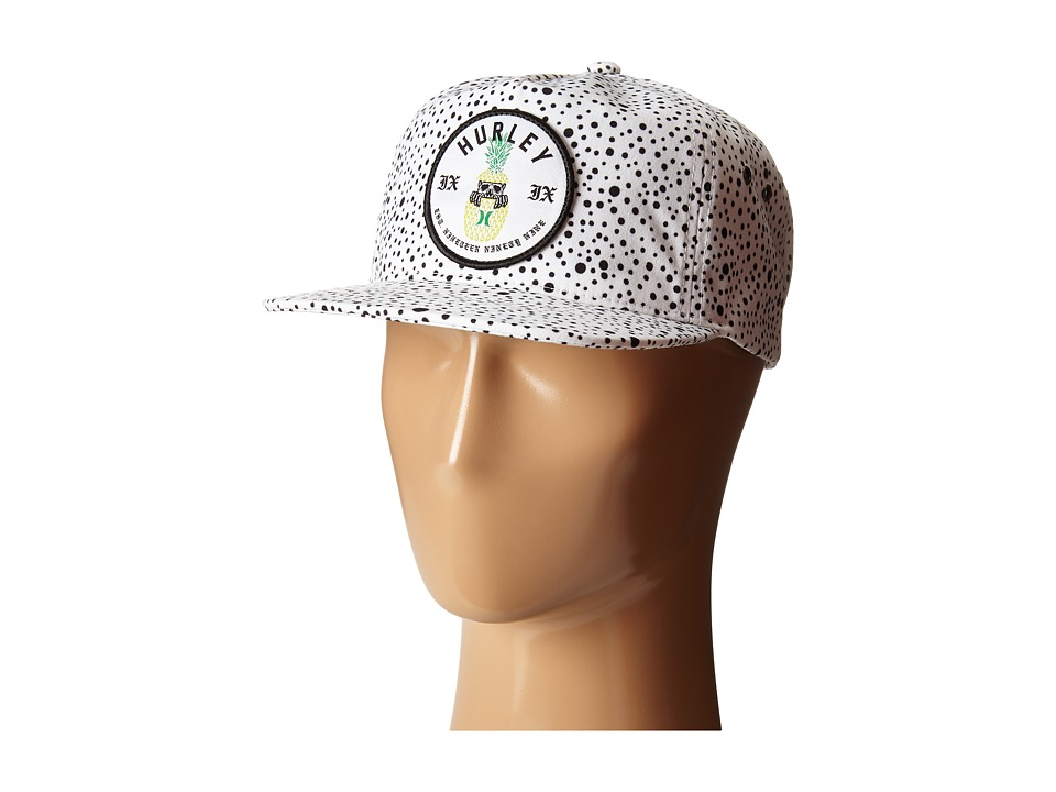 Hurley - Beach Cruiser Hat (White) Caps
