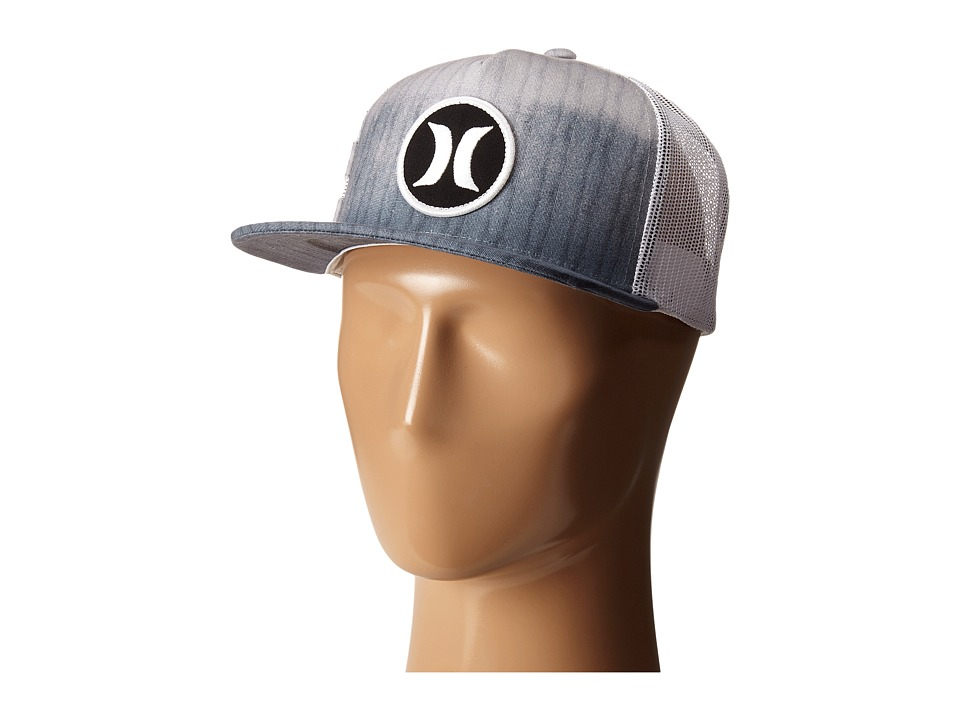 Hurley - Block Party Hyper Flow Hat (Wolf Grey) Caps
