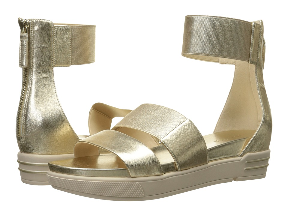 Nine West - Zelena (Light Gold/Light Gold Metallic) Women's Sandals