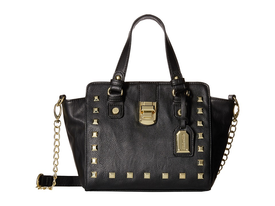 Steve Madden - Bannabelle Mini Satchel (Black/Black) Satchel Handbags