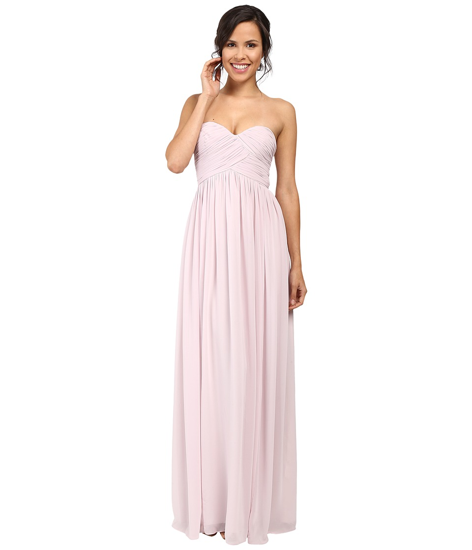 Donna Morgan - Laura Long Chiffon Gown Dress (Palest Pink) Women's Dress