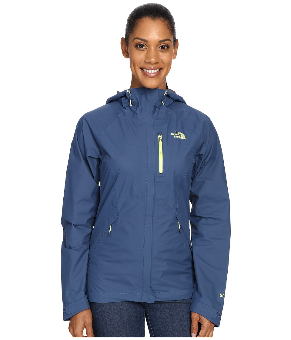 The North Face - Dryzzle Jacket (Shady Blue) Women's Coat