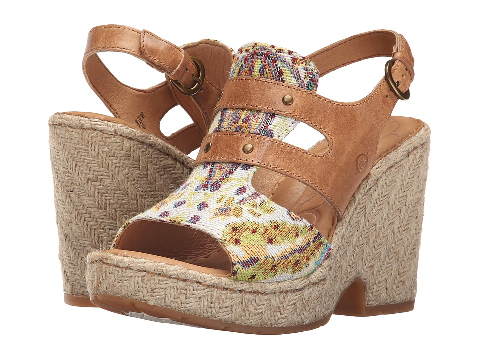 Born - Brewster (Natural Combo) High Heels
