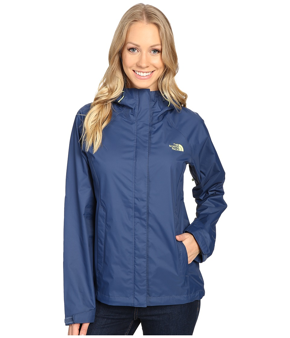 The North Face - Venture Jacket (Shady Blue) Women's Coat