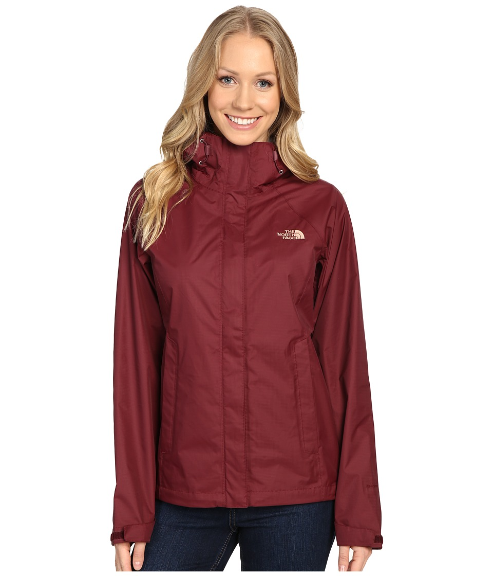 The North Face - Venture Jacket (Deep Garnet Red) Women's Coat