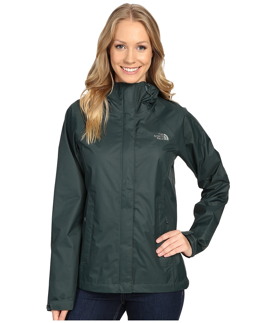 The North Face Venture Jacket (Darkest Spruce) Women