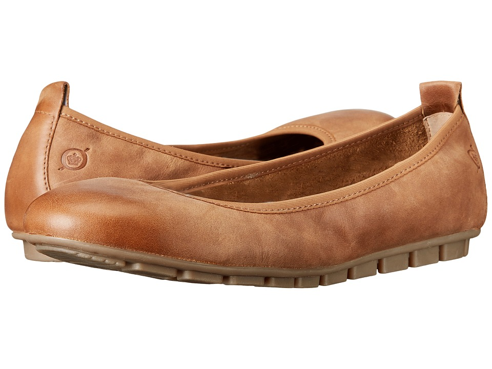 Born - Tami (Biscotto Full Grain Leather) Women's Slip on Shoes