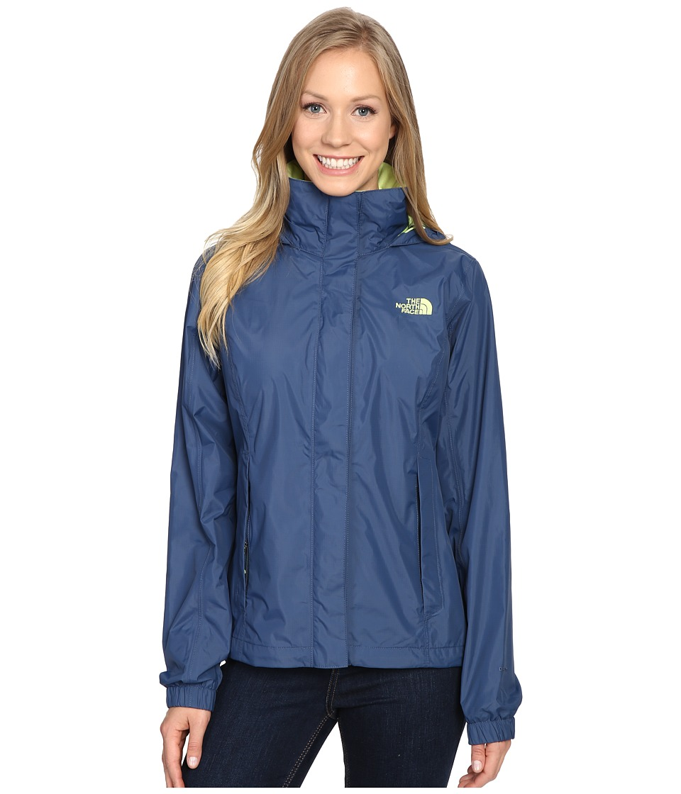 The North Face - Resolve Jacket (Shady Blue) Women's Coat