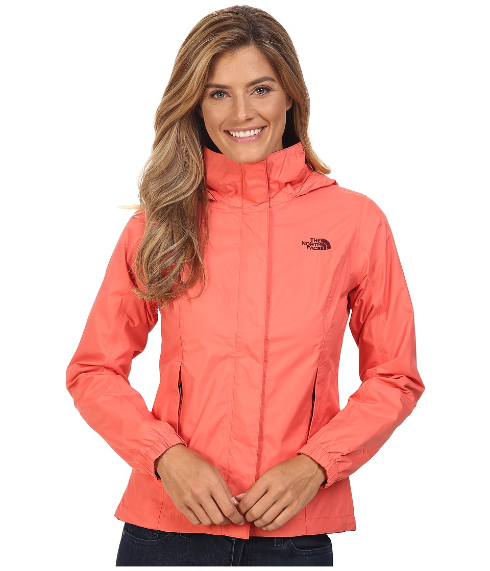 The North Face - Resolve Jacket (Spiced Coral) Women's Coat