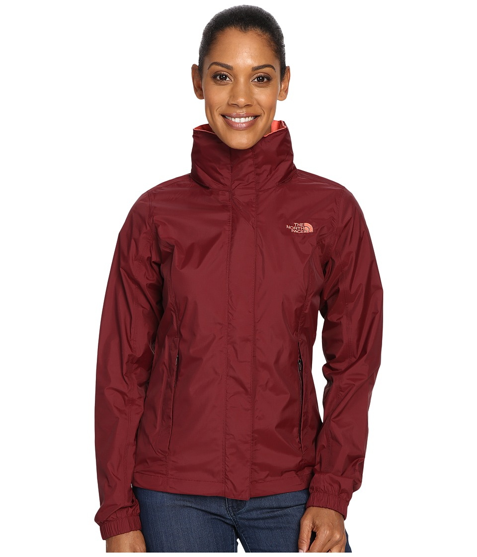 The North Face - Resolve Jacket (Deep Garnet Red) Women's Coat