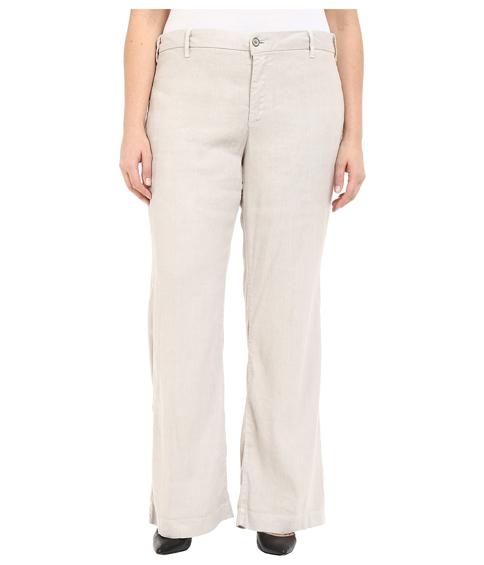 NYDJ Plus Size - Plus Size Claire Trousers (Sand Dollar) Women's Casual Pants