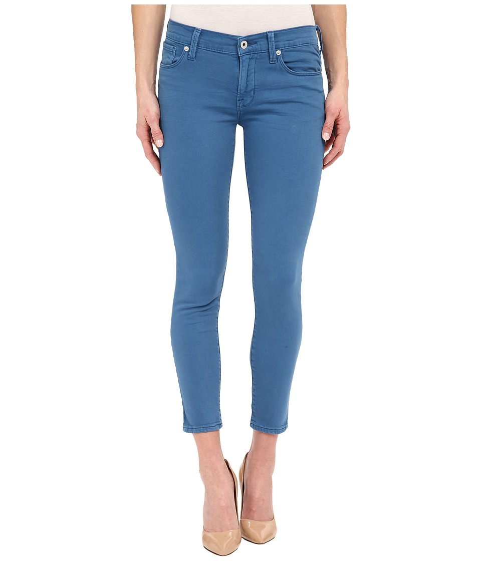 Lucky Brand - Brooke Ankle Skinny in Blue (Blue) Women's Jeans