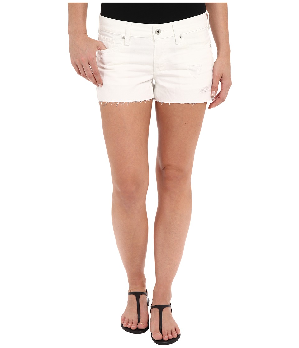 Lucky Brand - The Cut Off in White Destructed (White Destructed) Women's Shorts