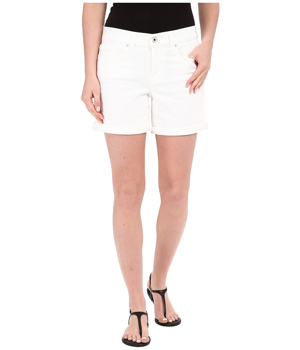 Lucky Brand - The Roll Up Shorts in White Cap (White Cap) Women's Shorts
