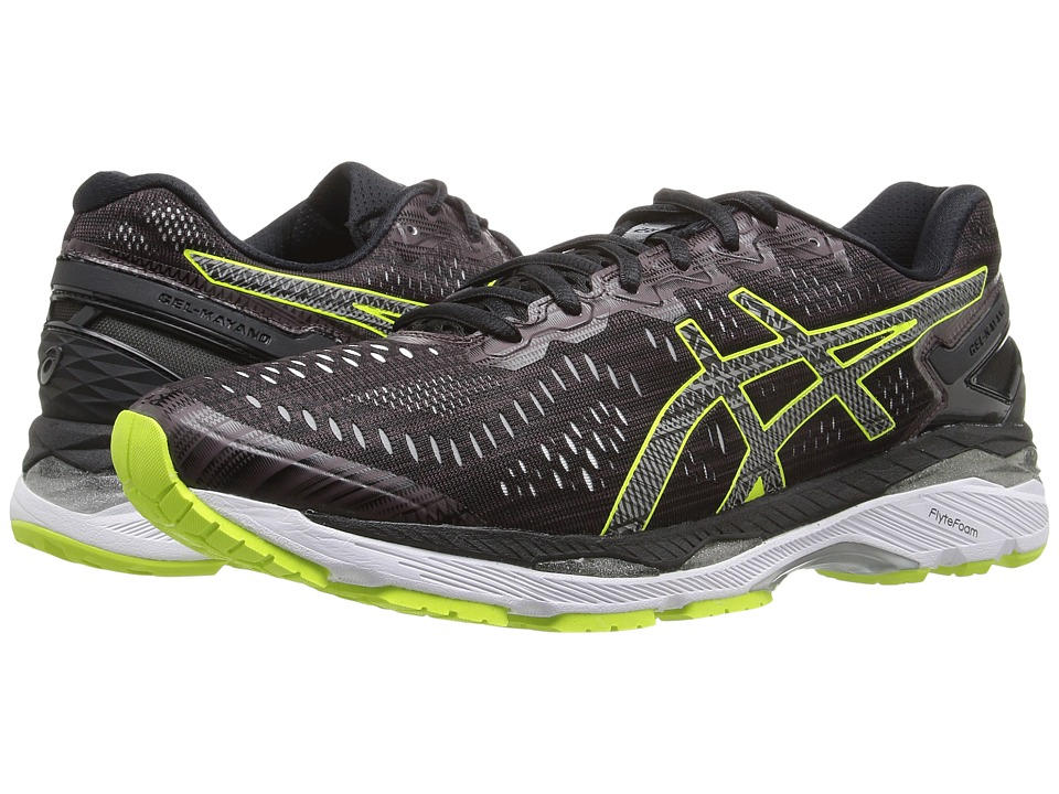 ASICS - Gel-Kayano(r) 23 Lite-Show (Rioja Red/Black/Sulphur Spring) Men's Running Shoes