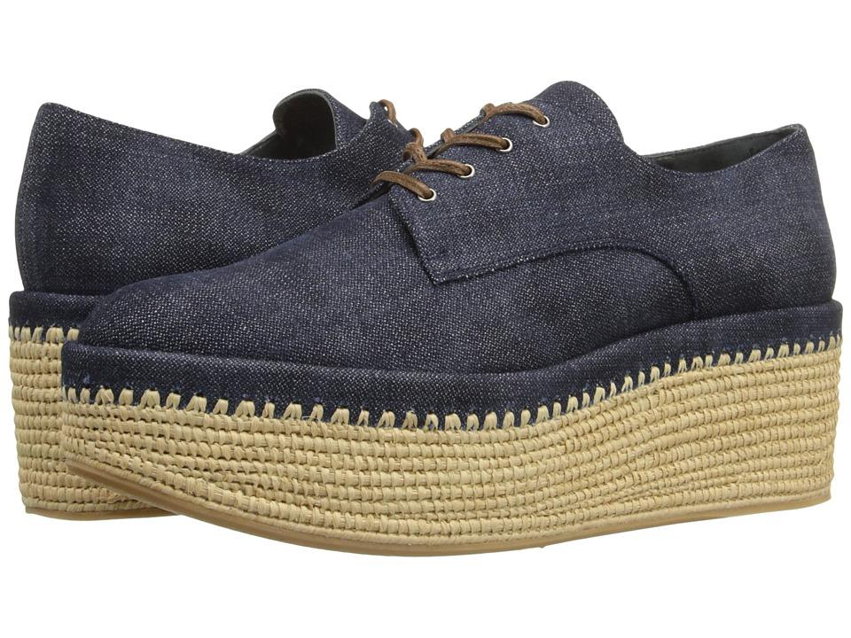Stuart Weitzman - Kent (Navy Antique Denim) Women's Shoes
