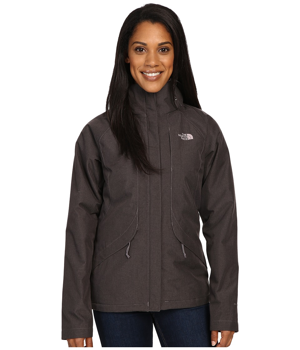 The North Face - Inlux Insulated Jacket (Rabbit Grey Heather) Women's Jacket