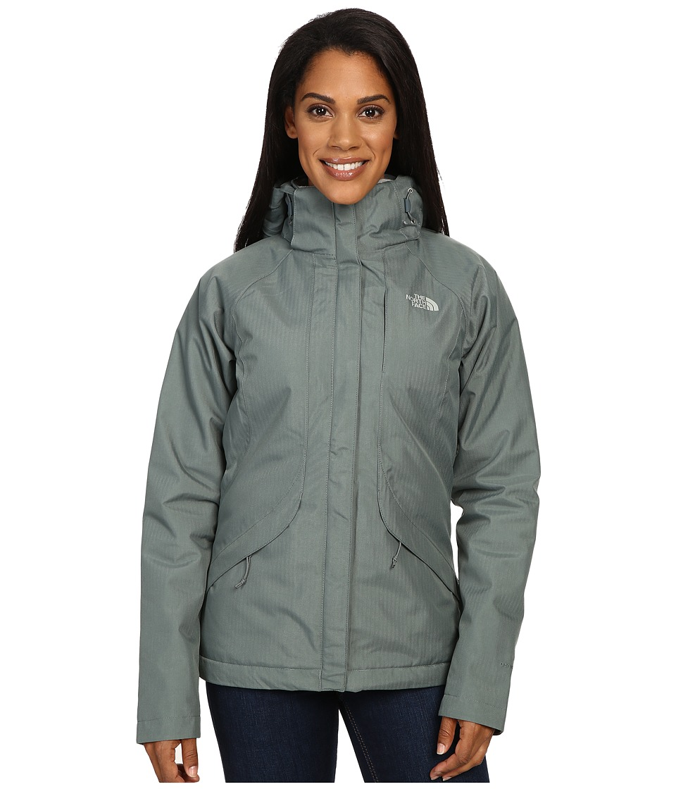 The North Face - Inlux Insulated Jacket (Balsam Green) Women's Jacket