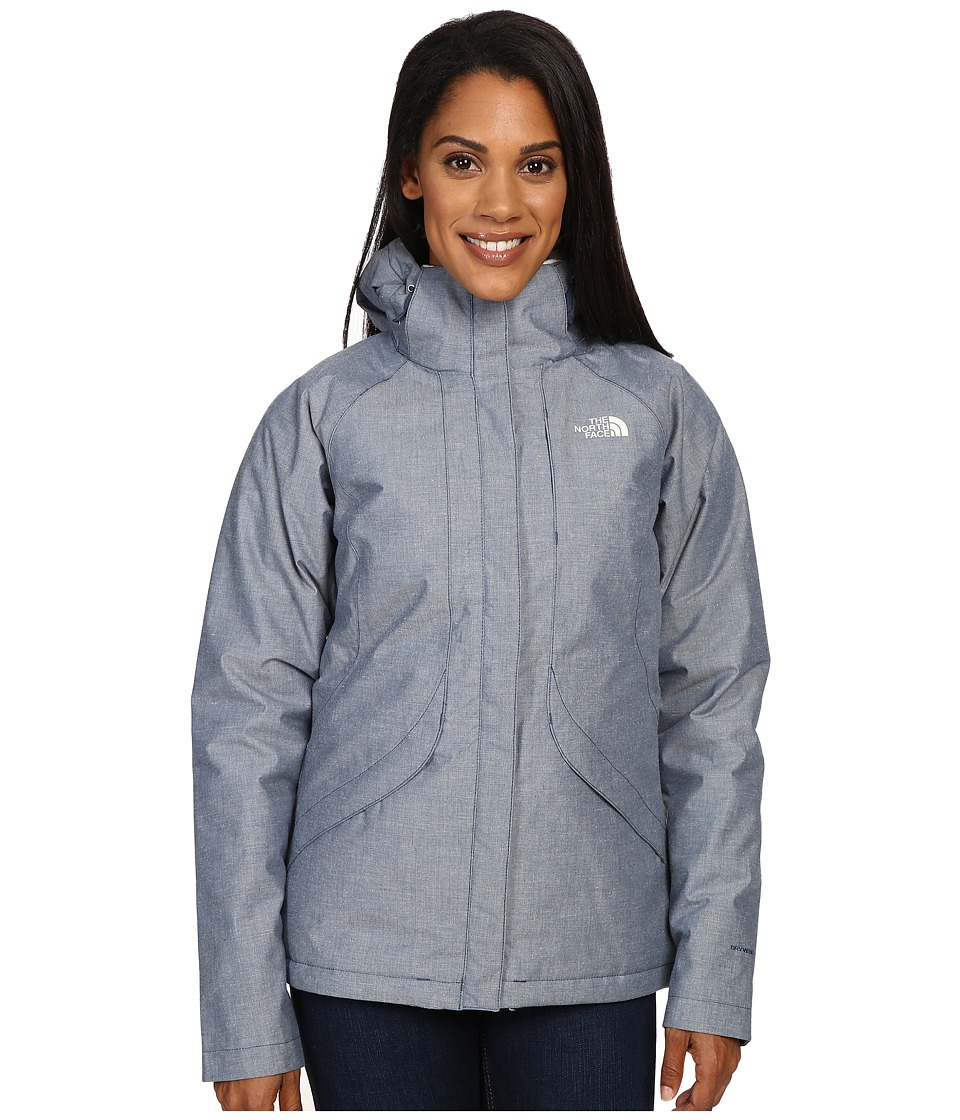 The North Face - Inlux Insulated Jacket (Shady Blue Chambray) Women's Jacket