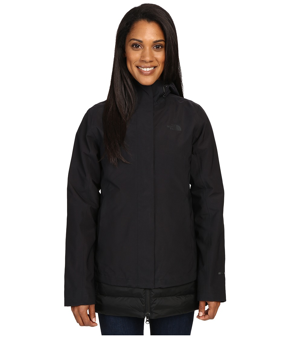 The North Face - Ivy Hill Down Triclimate(r) Jacket (TNF Black (Prior Season)) Women's Coat