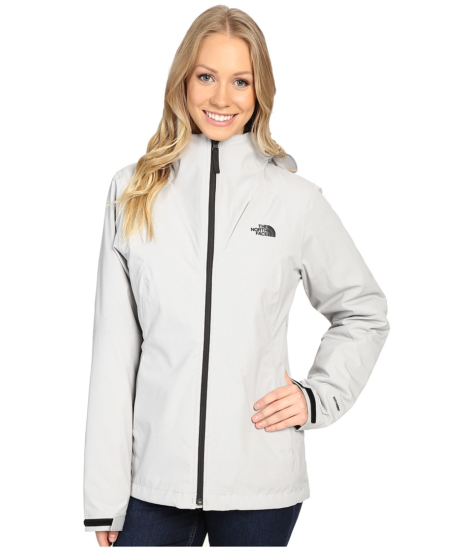 The North Face - ThermoBall Triclimate Jacket (Lunar Ice Grey Heather) Women's Coat