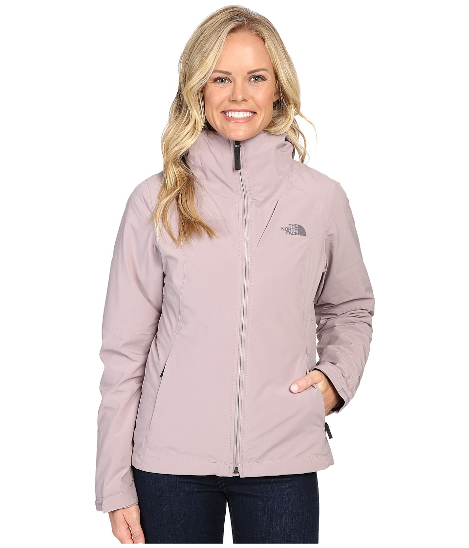 The North Face - ThermoBall Triclimate Jacket (Quail Grey) Women's Coat