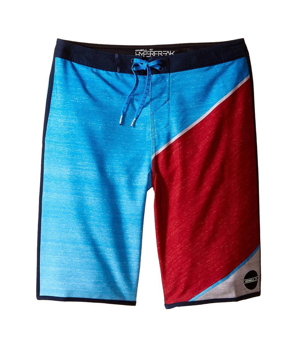 O'Neill Kids - Hyperfreak Boardshorts (Big Kids) (Red) Boy's Swimwear