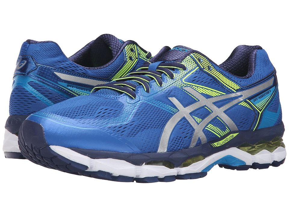 ASICS - Gel-Surveyor 5 (Imperial/Silver/Safety Yellow) Men's Running Shoes