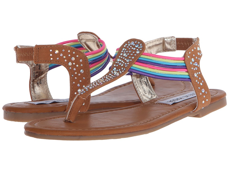 Steve Madden Kids - Jtamii (Little Kid/Big Kid) (Cognac Multi) Girl