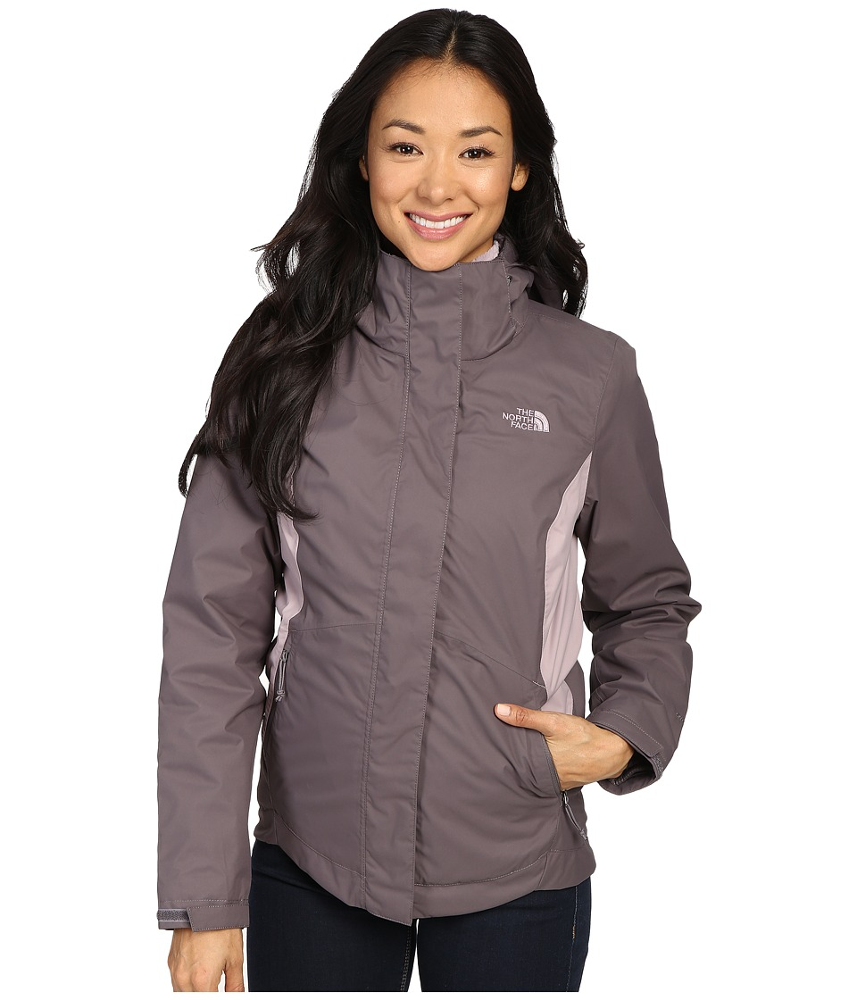 The North Face - Mossbud Swirl Triclimate Jacket (Rabbit Grey/Quail Grey) Women's Coat