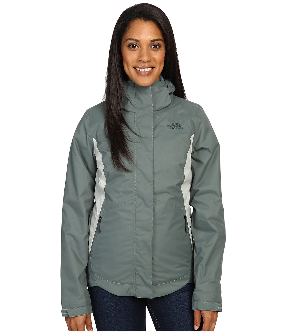 The North Face - Mossbud Swirl Triclimate Jacket (Balsam Green/Wrought Iron) Women's Coat