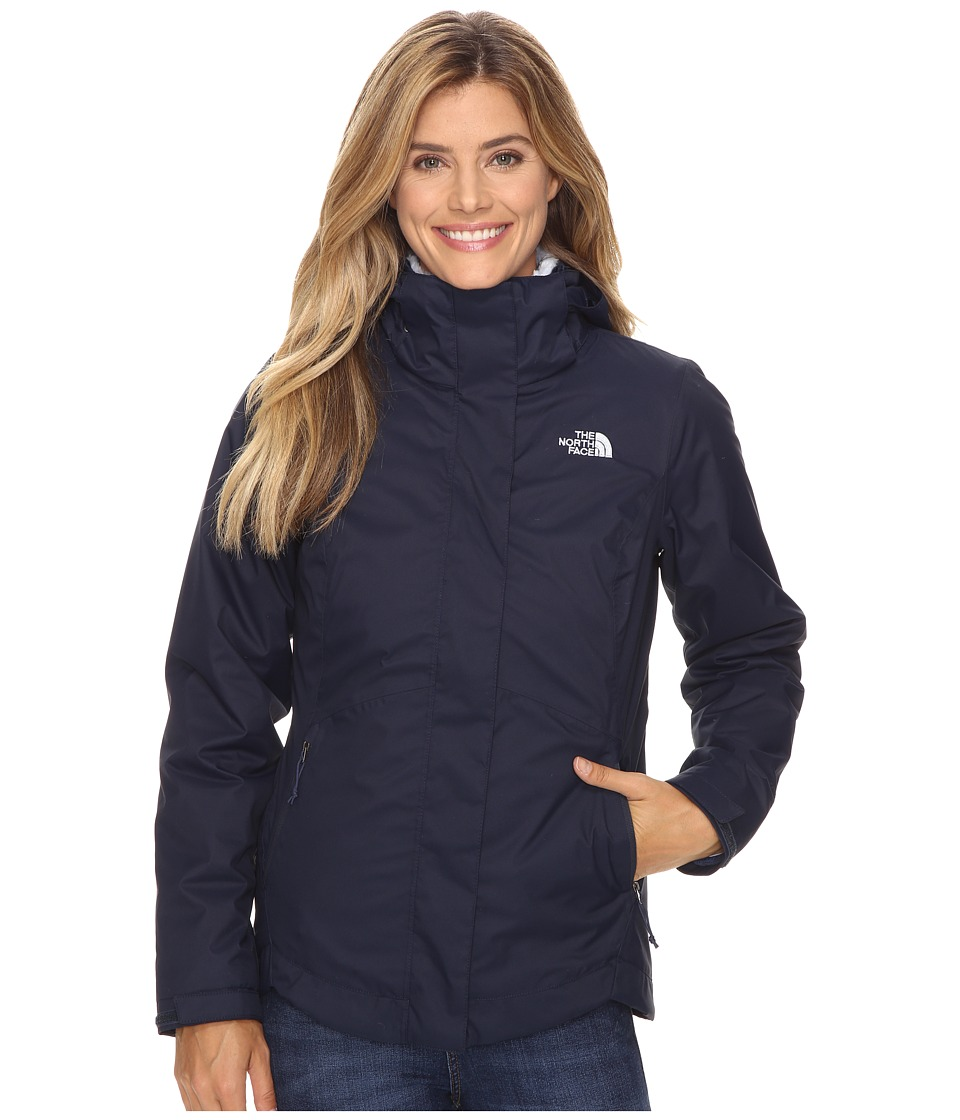 The North Face - Mossbud Swirl Triclimate Jacket (Cosmic Blue) Women's Coat