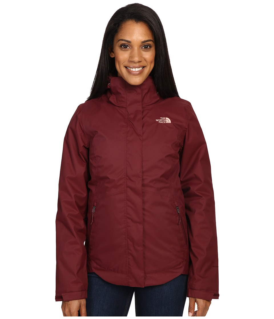 The North Face - Mossbud Swirl Triclimate Jacket (Deep Garnet Red) Women's Coat